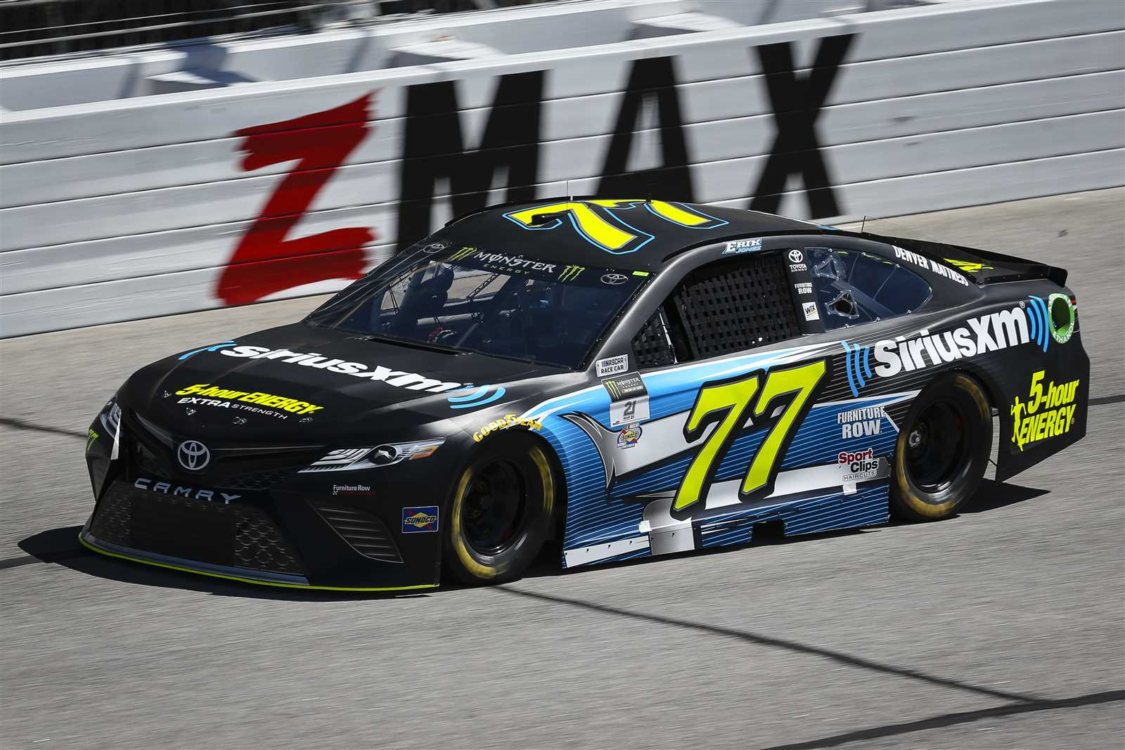 Erik Jones' #77 SiriusXM Toyota.jpg