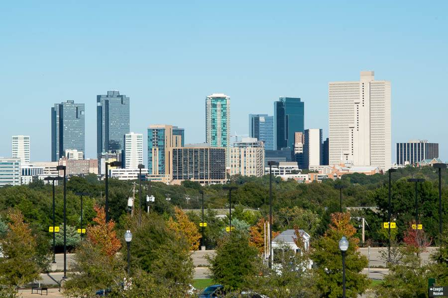 FW Skyline From Dickies Arena Small.jpg