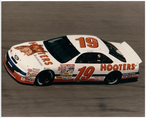 Loy Allen Jr.'s #19 Hooters Restaurants Ford.png